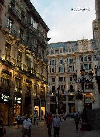 Saragosse, Espagne : I bellissimi palazzi