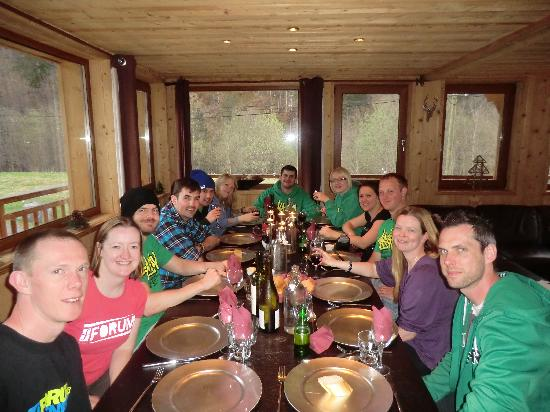 More Mountain - La Cabine : dining and socialising with la cabine guests and staff