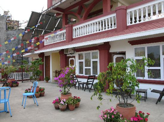 Hotel Encounter Nepal: Rooms at the rooftop