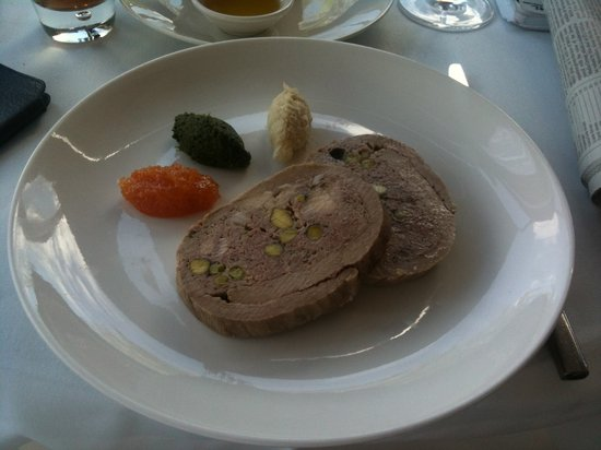 Chianti: Cima alla Genovese- veal breast stuffed with minced veal- a delightful appetizer