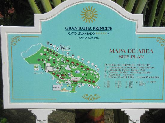 A map of the resort they also give you one when you arrive at the