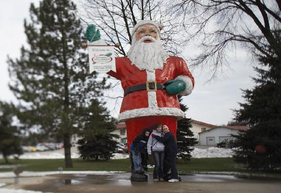 Frankenmuth is home to the world's largest Christmas Store, Bronner's CHRISTmas Wonderland
