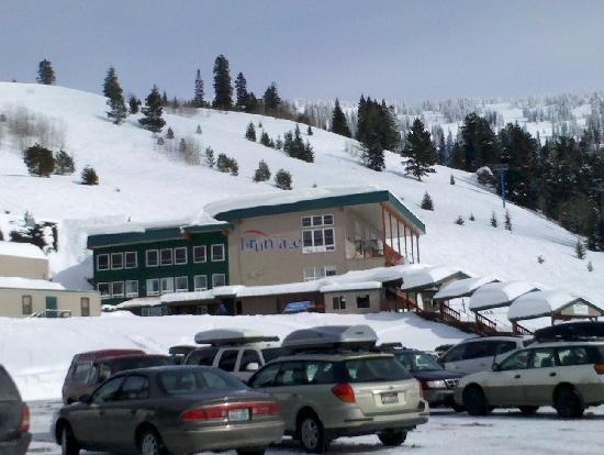 Brundage Mountain: Base Lodge...You Really Don't Need More than This!