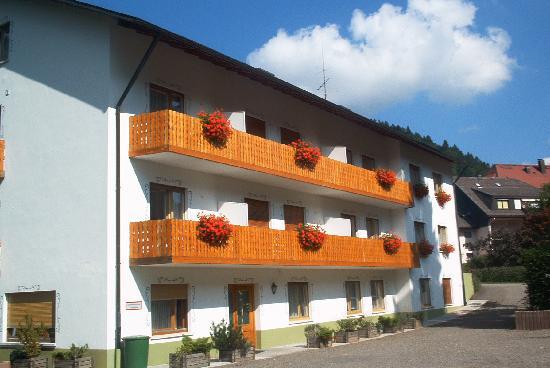 Hotel Am Kurpark: Balkonansicht