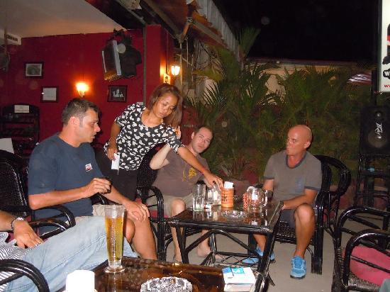 The Look Bar & Restaurant: terrace