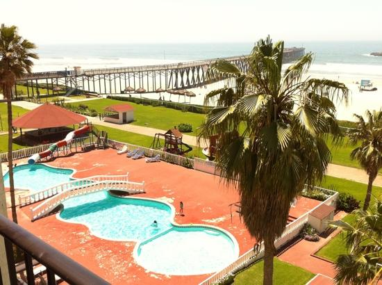 Rosarito Beach Hotel : view from my room