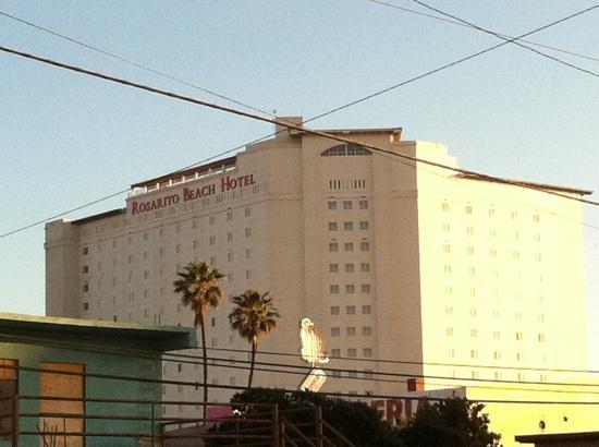 Rosarito Beach Hotel: front shot