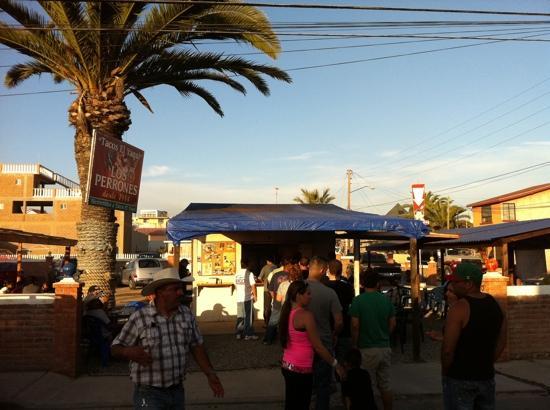 Tacos El Yaqui: front shot