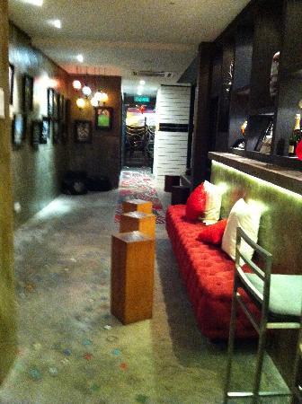 Batik Boutique Hotel: the lobby