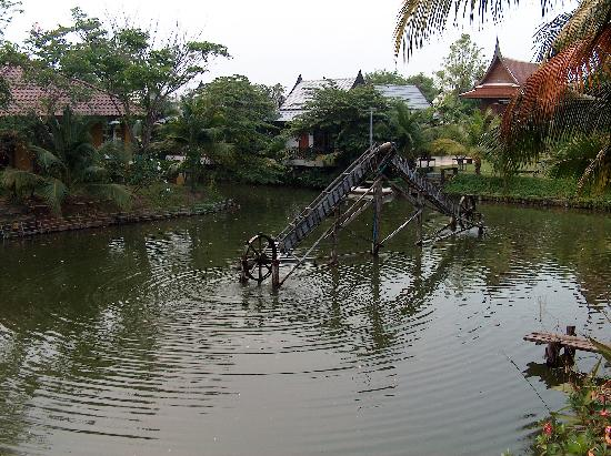 Baan Thai House: View from our villa over the lake