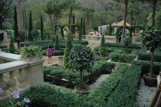 Pak Chong, Thailand: Italian garden at Palio Khao Yai