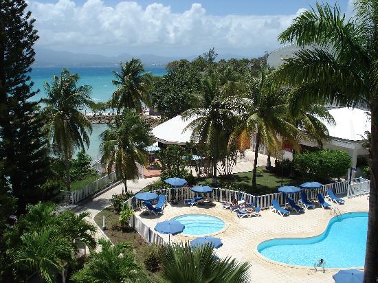 Karibea Beach Hotel Gosier Vue De La Fenêtre Située Au Fond Du Couloir 5è