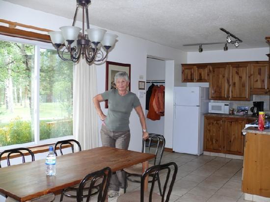 Patricia Lake Bungalows Resort: Kitchen