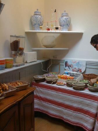 Hotel de la Mer : 朝食