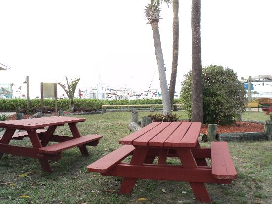 Fishermen's Village Resort: picnic area