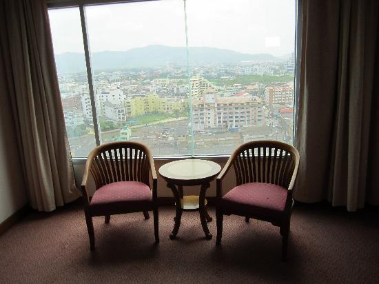 Sakura Grand View Hotel: View