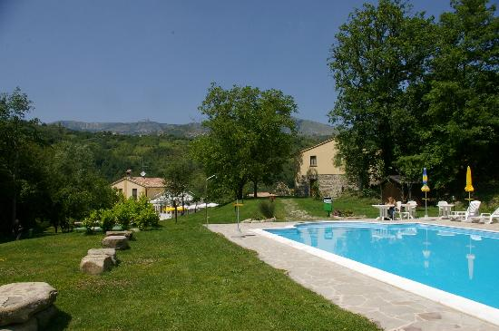 Agriturismo La Ferraia: La piscina