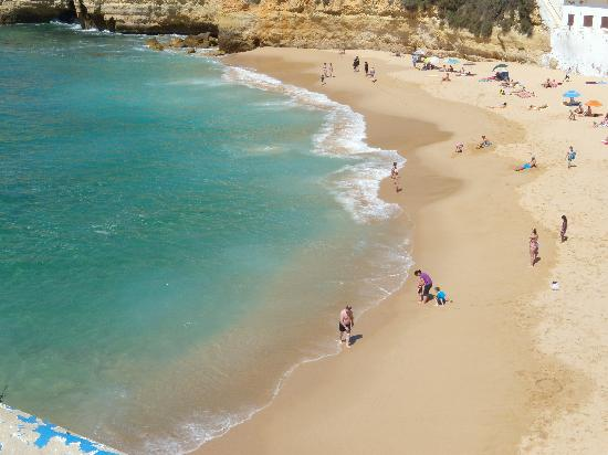 Carvoeiro, Portekiz: Main Beach