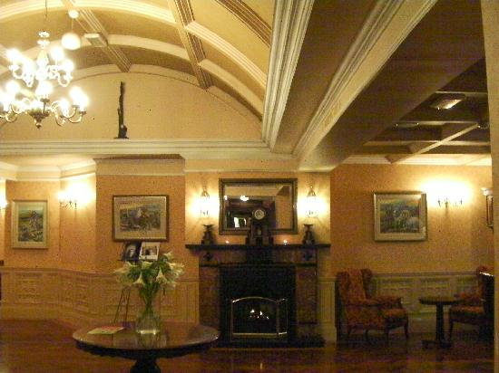 Meadowlands Hotel: Fire place in reception