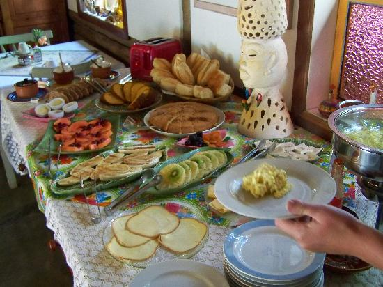 Hotel Pousada Guarana: the amazing breakfast