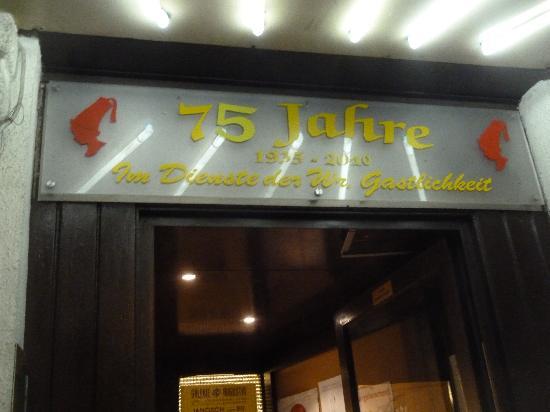 Cafe Hummel: Eingang Cafe Hummel