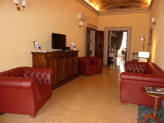 Hotel dei Macchiaioli: lounge 2