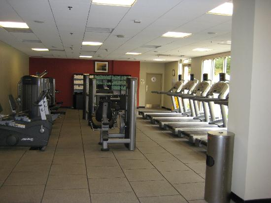 San Ramon Marriott: Gym area
