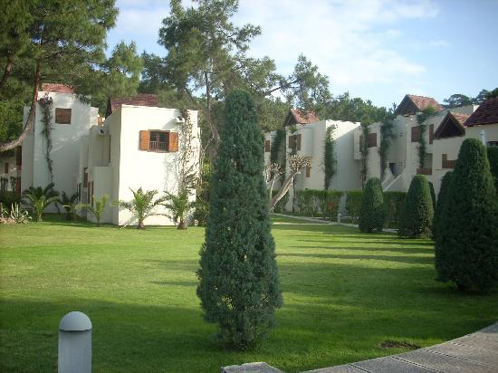 Club Med Palmiye: les bungalows (le villagio)