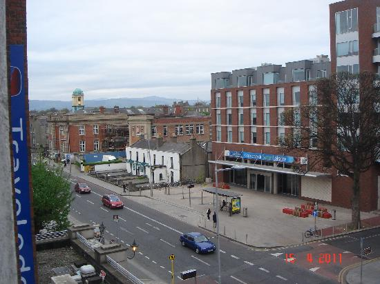 Travelodge Dublin City Centre Rathmines: View from room 316