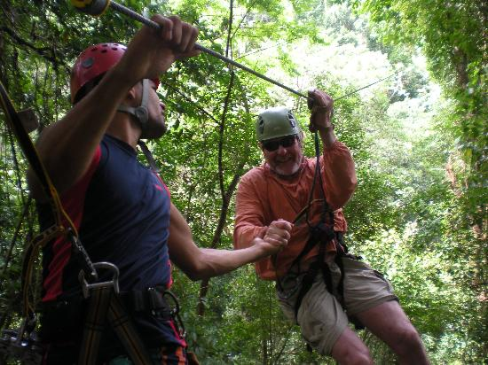 Osa Canopy Tour: our 73 year old surf bud
