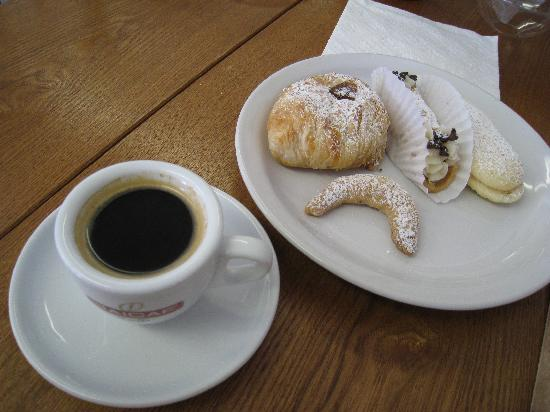 Image result for coffee and italian sweets