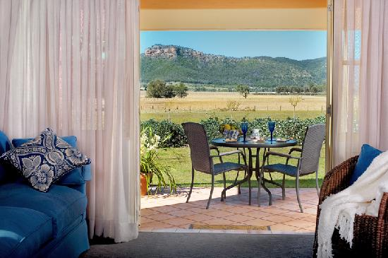 Pemberley Grange Hunter Valley Getaway: View to Yellow Rock