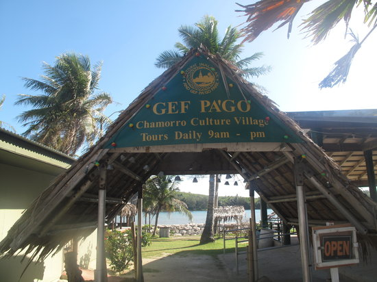 ‪‪Inarajan‬, جزر ماريانا: Entrance to Gef Pago Park‬