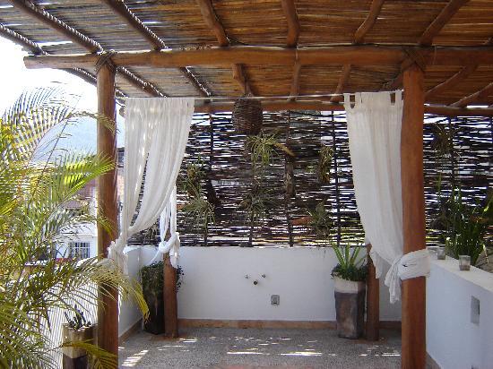 Hacienda Alemana: The deck