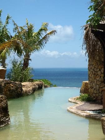 Bazaruto Island, Mozambique : View from the spa