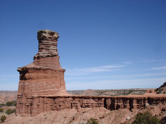 Palo Duro Canyon State Park: Another View of the Lighthouse