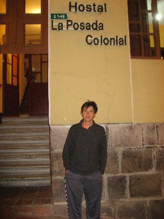 Hostal La Posada Colonial: Jaime