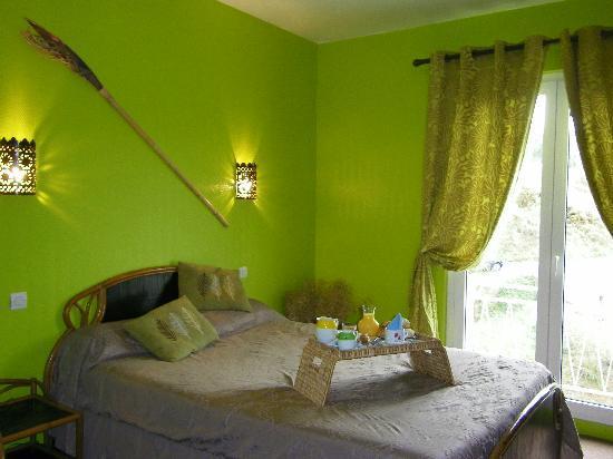 Le Moulin Noye: Chambre