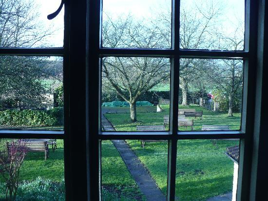 The Greenman: View from bedroom window