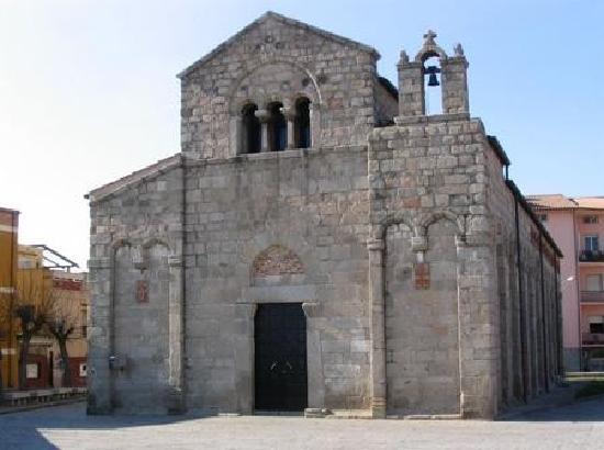 Olbia, Italia: Basilica Di San Simplicio -Epoca Romanica