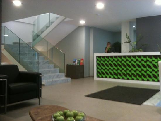 Hotel Aloe Canteras: The reception