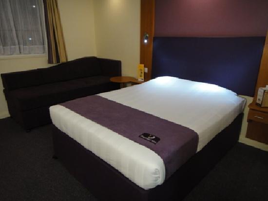 Premier Inn Dubai International Airport Hotel : シングルの部屋