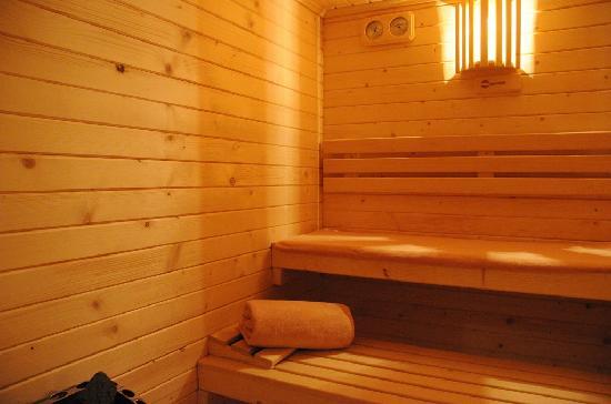 Sauna del Spa del Hotel Los Cinco Enebros