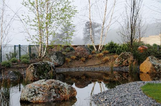 Jardín del Hotel Los Cinco Enebros