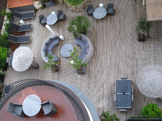 Hotel Praktik Rambla: hotel terrace