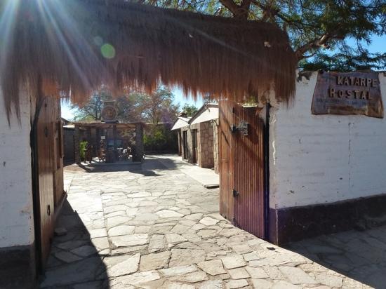 Hostel Katarpe: Blick in den Innehof