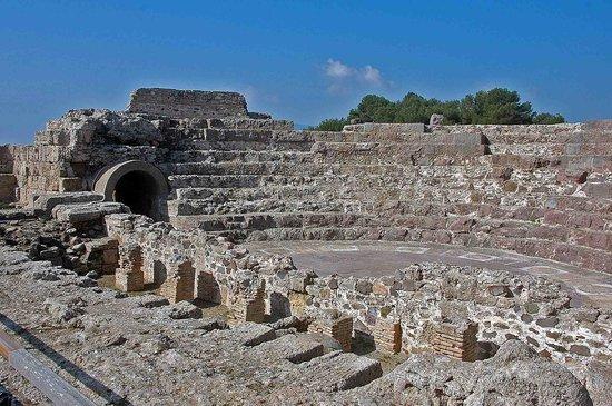 Pula, Italy: Roman amphitheatre Nora