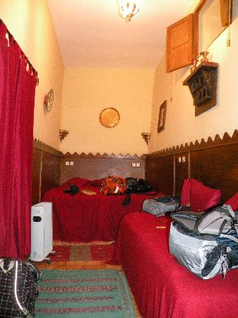 Hotel Sherazade: Our room on the ground floor