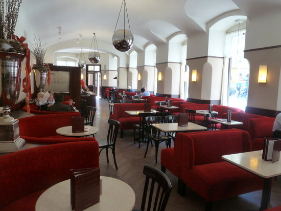 Cafe Museum: Innen