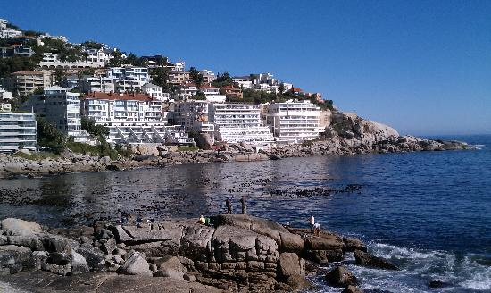 Bantry Bay International Vacation Resort: Hotel from Distance (Second from Left on Water)